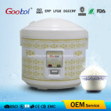 Electric Rice Cooker with Hiden Handle Design Characteristic Flower Design