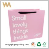 Baby White Paper Custom Clothing Pink Packaging Bag Wholesale