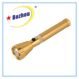 3watt Gold Rechargeable Portable Top Quality Flahslight Torch