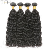 Brazilian Water Wave Bundles High Quality Human Hair Weave Bundles Natural Water Wave Hair Extensions 1b# Remy Hair for Wholesalers