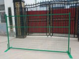 Canada Construction Fence Panels Powder Coated Temporary Fence Hot Sale