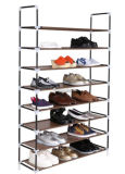 Wholesale Chrome Metal Wire Plate Retail Floor Exhibition Advertising Display Shoe Supermarket Stand Rack Factory