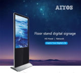 Vertical Digital Signage Floor Standing Advertising Touch Screen Kiosk PC