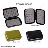 Wholesale Price Classic Triangle Foam Plastic Fly Fishing Box 09A-H0613