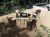 Wicker Outdoor Furniture Resin Patio Dining Set Bp-3017D-a