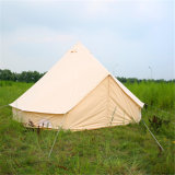 Outdoor Camping Waterproof Cotton Canvas Bell Tent Glamping Yurt Tent