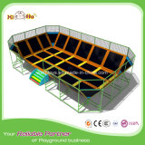 Dodgeball and Foam Pit Kids Gymnastic Bungee Jumping Trampoline Indoor