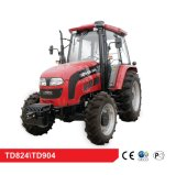 80HP 90HP Farm wheel agricultural Tractor with CE & OECD