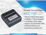 Bluetooth USB WiFi Portable 3inch Ticket Thermal Mobile PDA Printer (HCC-T3P)