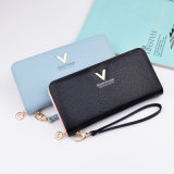 2019 Best Selling Fashion Colorful Soft Lady Long Wallet Female Wholesale Custom Woman Cheap Wallet