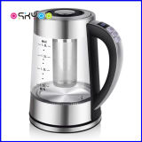 Smart Electric Glass Kettle Temperature Control 1.8L BPA Free Cordless Water Heater with Keep Warm Function/Blue LED/Auto Shut-off