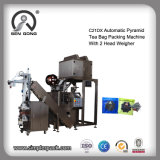 Wholesale Automatic Triangle Pouch Tea Bag Packing Machine with Outer Envelop