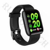 Waterproof Android 116 Plus Healthy Watch Smart Heart Rate Bracelet with Bluetooth