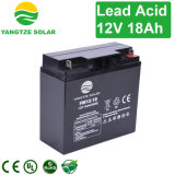 Environment Friendly Rechargeable 12V 18ah 20hr Solar Battery Box