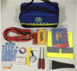 Emergency Roadside Safety Car Survival First Aid Kit with Roadside Reflectors