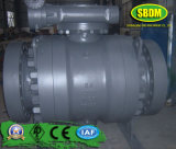 API 6D Flanged Trunnion Mounted Ball Valve