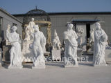 Marble Sculpture of Four Season Beauties