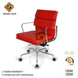 Green Leather Lift Aluminium Hotel Office Chair (GV-EA217)