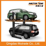 2014 New Released Double Levels Underground Parkig Car Lift