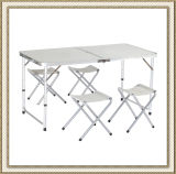Camping Outdoor Folding Table with 4 Chairs (CL2A-AT01)