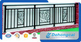 Ornamental Security Indoor Powder Coated Wrought Iron Balcony Railing Designs