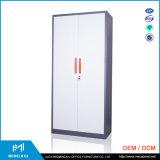 Luoyang Mingxiu Low Price 2 Door Metal Locker Style Storage Cabinet / Metal Storage Cabinets