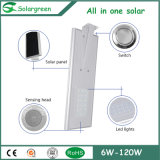 Easy Installation 8W-120W All in One Integrated Solar Street Lighting