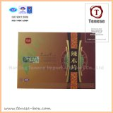 High End Health Care Packaging Box with Offset Printing & Hot Stamping Custom Design