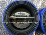 Rubber Lining Dual Plate Check Valve with Ce ISO