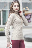 Ladies′ Fashion Cashmere Sweater (1500002038)
