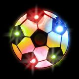 New Flashing Colored LED Soccer Ball