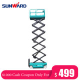 Cash Coupon Sale! Factory Price 10m-12m Self-Propelled Price Favorable Electric Mini Scissor Lift for Sale