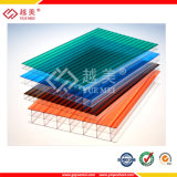 UV Coated Colored Polycarbonate Sheet, Double Layer Polycarbonate Hollow Sheet