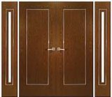 Exterior Wooden French Door in Good Quality