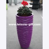 Fo-320 Tall Fiberglass Vase for Home Garden
