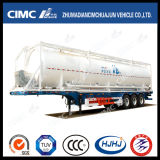 Cimc Huajun 58cbm Powder Tank with Skeleton Trailer