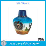 Nice Painting Decoration Ceramic Vase
