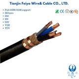 Cu/XLPE/Cws/CT/PVC Protective Copper Tape N2xcy Yxc7V Concentration Power Cable