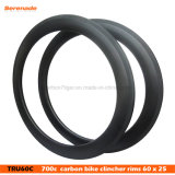 7-Tiger High Tg 700c Road Bike Carbon Clincher Rims 60 mm Depth