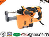 Lightweight Hammer Drill with Dust Collection for Construction (NZ30-01)