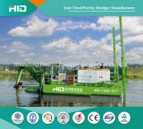 Double Pumped Amphibious Dredger Machine for Cutter Dredging /Weed Raking/Piling/Backhoe Dredge All-in-One
