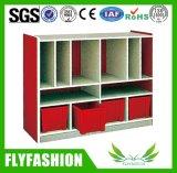 Kids Furniture Wooden Kid Toy Cabinet Bookshelf (SF-106C)