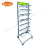 Wholesale Adjustable Iron Wrought Hanging Metal Wire Peg Hook Display Shelf Rack