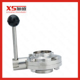 Stainless Steel Hygienic Manual Weld Weld Butterfly Valves