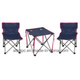 Outdoor Portable Folding Child Chair Table Set for Camping, Fishing, Beach, Picnic and Leisure Uses