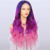 Best Quality Fashion Popular Long Three Tone Body Wave Hair Wigs