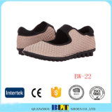 High Quality Woven Weave Elastic Shoes Belt Handmake Knit Shoes for Women