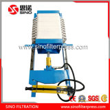 320 Small Hydraulic Manual Chamber Filter Press for Lab