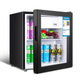 50L Semiconductor Electric Refrigerator Mini Bar Fridge with Glass Door