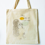 Comfortable and Reusable Cotton Tote Bag
